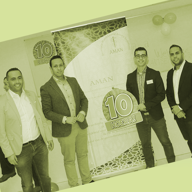Aman Artsen viert jubileumsymposium: 10 jaar!
