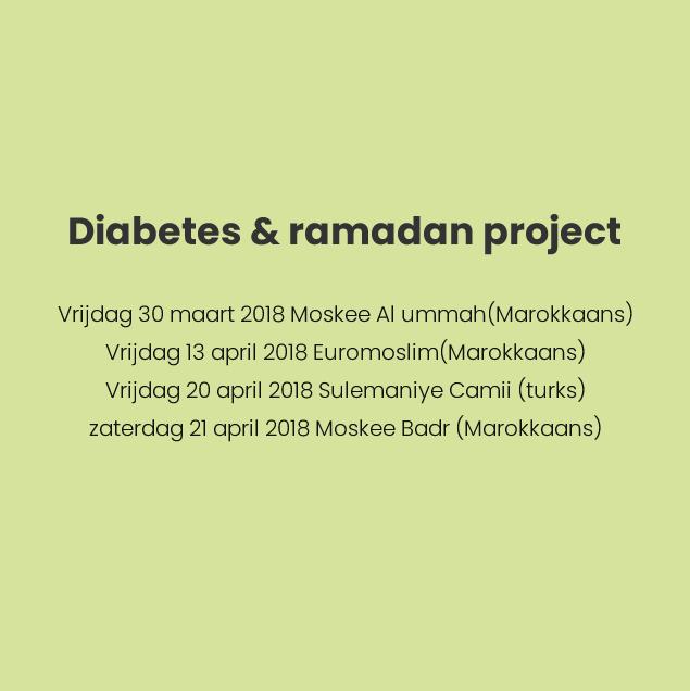Diabetes & ramadan project