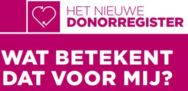 Symposium de nieuwe donorwet