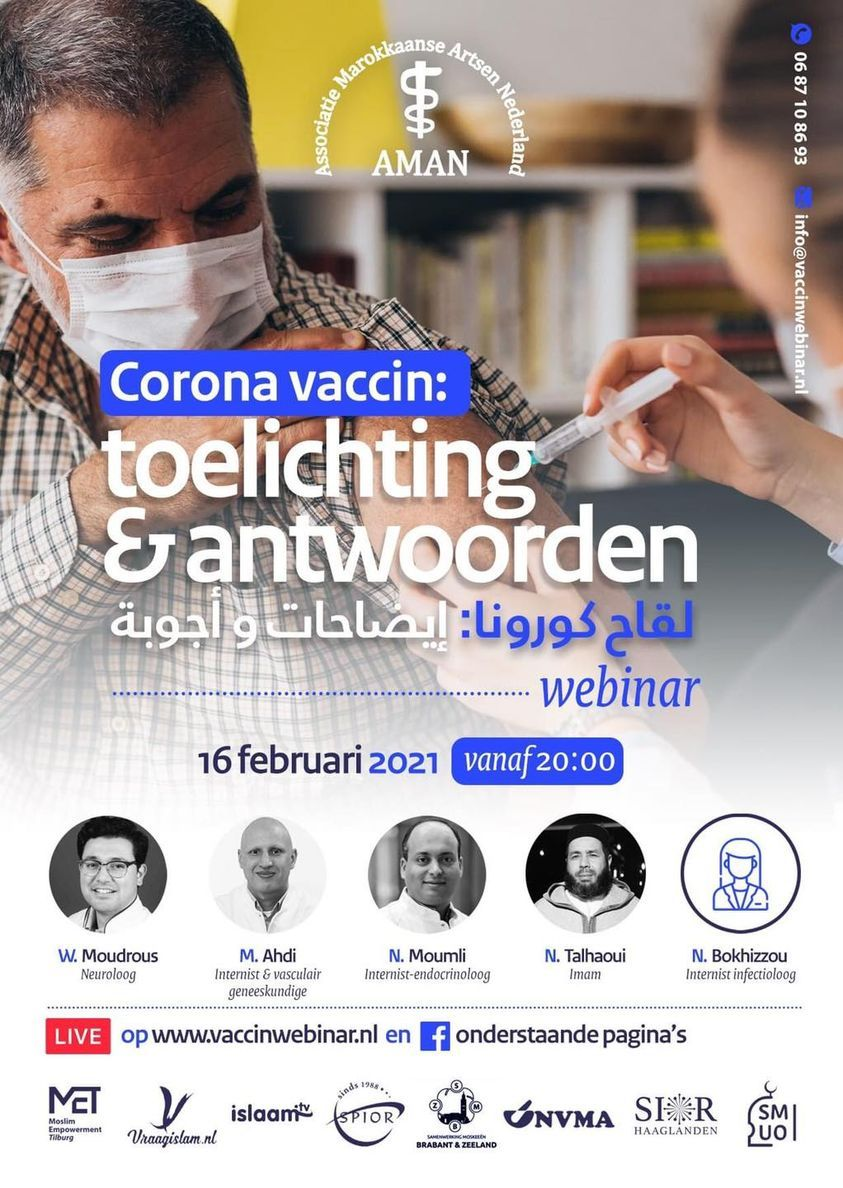 Webinar Corona vaccin
